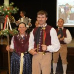 Edwin und Elisabeth Schill haben den Hammeltanz gewonnen